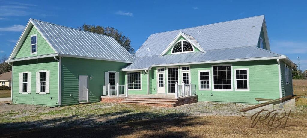 Tangerine Farmhouse Build 6